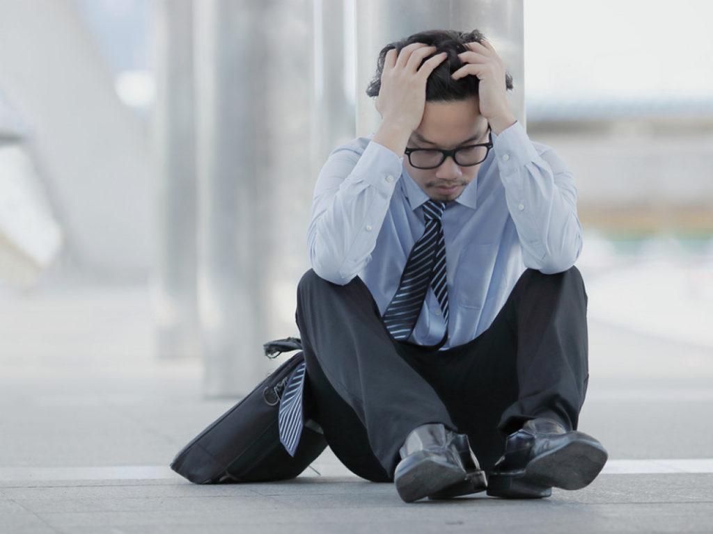 Stressed over bebt