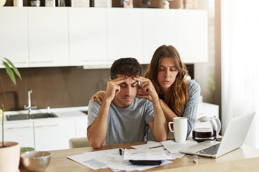 debt collection stress